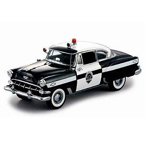 Chevrolet Bel Air Polícia 1954 1/18 Sun Star