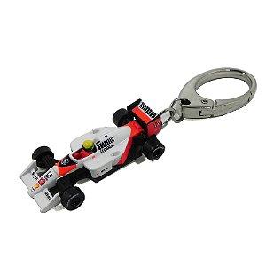 Chaveiro Ayrton Senna Mclaren Califórnia Toys 1/72 Premiumx