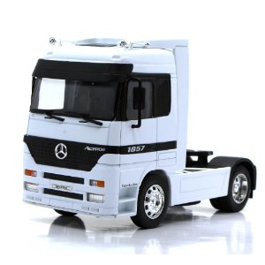 Caminhão Mercedes Benz Actros 1857 SH Models 1/32 Welly