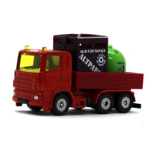 Caminhão de Transporte de Materiais Recicláveis 1/64 Siku
