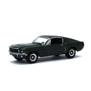 Ford Mustang GT Fastback Steve McQueen Bullitt 1/64 Greenlight California Collectibles 64
