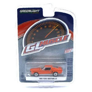 Ford Mustang GT 1968 GL Muscle Serie 19 1/64 Greenlight