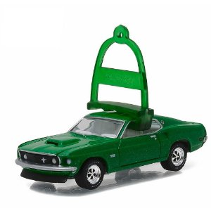 Ford Mustang BOSS 429 1969 Holiday Ornaments 1/64 Greenlight