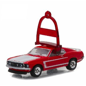 Ford Mustang BOSS 302 1969 Holiday Ornaments 1/64 Greenlight
