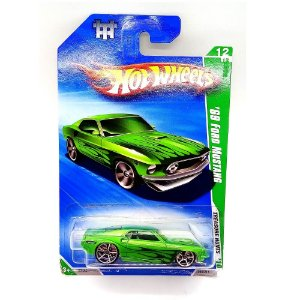 Ford Mustang 1969 T Hunt 2010 1/64 Hot Wheels
