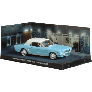 Ford Mustang 1/43 IXO –  007 James Bond  Contra Chantagem Atômica