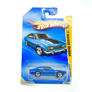 Ford Maverick Grabber 1971 Azul 1/64 Hot Wheels