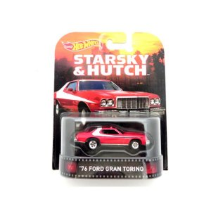 Ford Gran Torino Starsky & Hutch 1976 1/64 Hot Wheels
