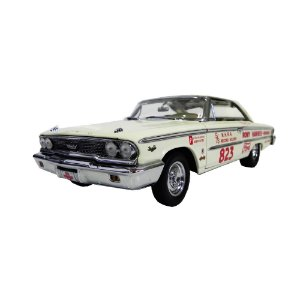 Ford Galaxie 500 427 Lightweight H Top R D B 1963 1/18 Sun Star