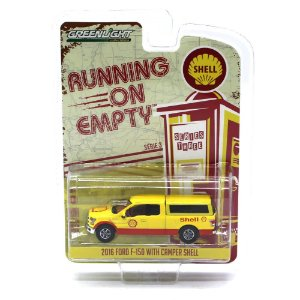 Ford F150 2016 Shell Running on Empty Serie 3 1/64 Greenlight