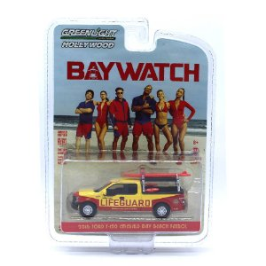Ford F150 2016 Baywatch 1/64 Greenlight
