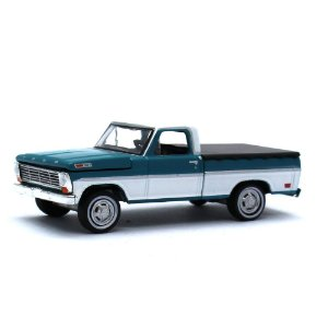 Ford F100 1969 com capota 1/64 Greenlight California Collectibles 64