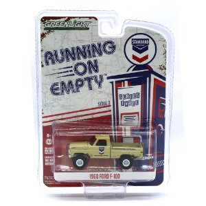 Ford F100 1968 Running on Empty Serie 3 1/64 Greenlight