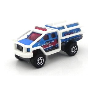 Ford F-350 Superlift Mbx Heroic Rescues 1/64 Matchbox
