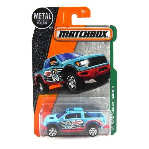 Ford F-150 Svt Raptor 1/64 Matchbox