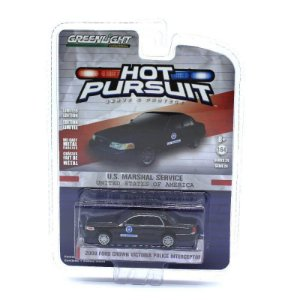 Ford Crown Victoria Interceptor Hot Pursuit 1/64 Greenlight