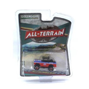 Ford Bronco Baja 1975 All-Terrain Serie 5 1/64 Greenlight