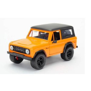 Ford Bronco 1973 Laranja Just Trucks 1/24 Jada Toys