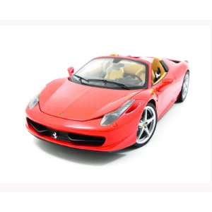 Ferrari 458 Spider Red 1/18 Hot Wheels Elite