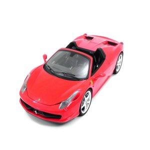 Ferrari 458 Italia Spider Red 1/18 Hot Wheels Elite