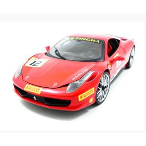 Ferrari 458 Challenge Red 1/18 Hot Wheels