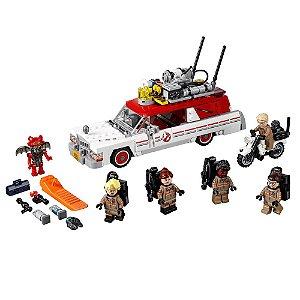 Ecto-1 & Ecto-2 Ghostbusters Novo Filme Lego Caça-Fantasmas 2016