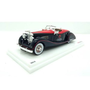 Duesenberg SJ Toy Fair Nuremberg 2014 1/43 True Scale