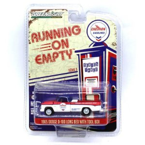 Dodge D100 1965 Cabine Longa Running on Empty 1/64 Greenlight