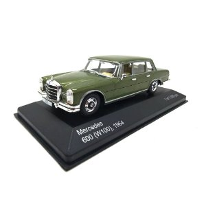 Mercedes Benz 600 W100 1964 Verde 1/43 Whitebox