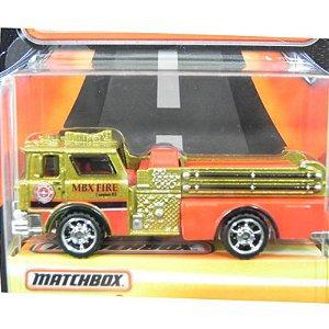 Mack Cf Pumper Caminhão Bombeiro 1975 1/64 Matchbox