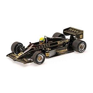 Lotus Renault 97T Ayrton Senna 1985 1/18 Minichamps