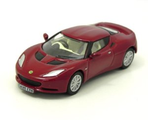 Lotus Evora Canyon Red Oyster 1/76 Oxford