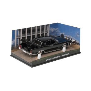 Lincoln Continental 1/43 IXO –  007 James Bond  Contra Goldfinger
