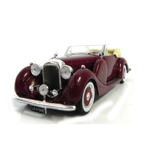 Lagonda Lg 6 Dhc 1938 1/43 Whitebox