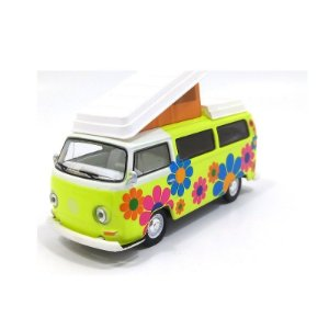 Kombi W. Campmobile 1968 1/64 Greenlight California Collectibles