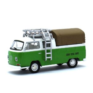 Volkswagen Kombi Type 2 Cabine Dupla Pickup 1971 1/64 Greenlight California Collectibles 64