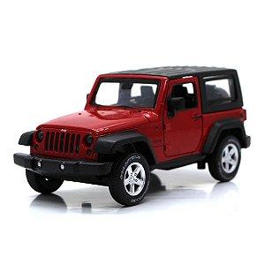Jeep Wrangler Com Luz Som e Fricção 1/32 California Action