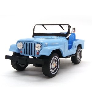 Jeep CJ5 1965 Elvis Presley 1/43 Greenlight