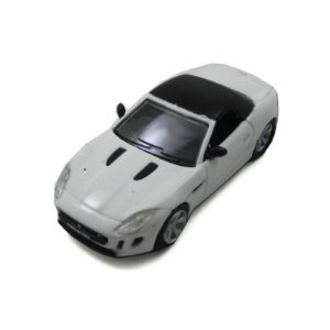 Jaguar F-Type Polaris White 1/76 Oxford
