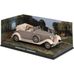 Hispano Suiza 1/43 IXO –  007 James Bond  Contra o foguete da morte