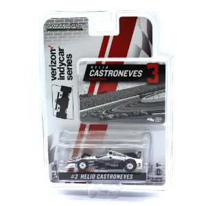 Helio Castroneves Equipe Penske Formula Indy 17 1/64 Greenlight