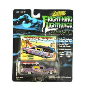 Heavenly Hearse Frightning Lightnings 1/64 Johnny Lightning