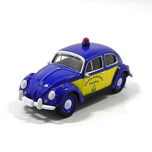 Volkswagen Fusca Polícia Rodoviária 1/64 Greenlight California Collectibles 64