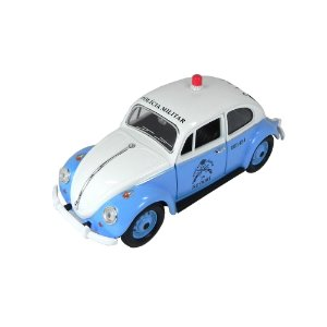 Volkswagen Fusca Polícia Militar Rio de Janeiro 1967 1/24 California Collectibles