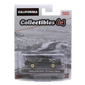 Pontiac Trans AM 1977 Smokey and the Bandit 1/64 Greenlight California Collectibles 64
