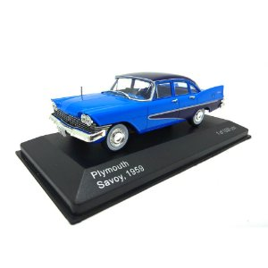 Plymouth Savoy Azul 1959 1/43 Whitebox
