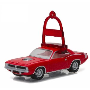 Plymouth HEMI Cuda 1970 Holiday Ornaments 1/64 Greenlight