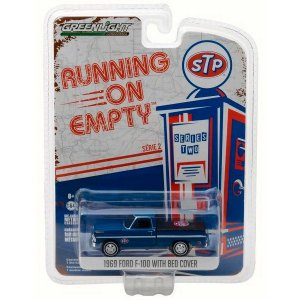 Ford F-100 1969 STP Running on Empty Série 2 com Capota 1/64 Greenlight