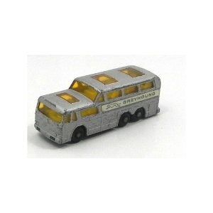 Ônibus Coach Greyhound N°66 1/64 Matchbox