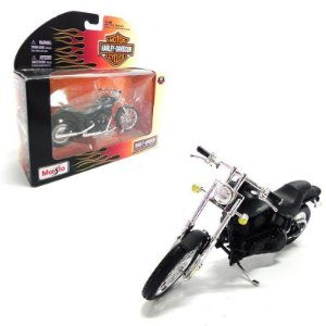 Moto Harley Davidson 2008 Fxstb Night Train 1/18 Maisto Série 26